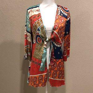 CAbi Tie Boho Kimono, Style 914